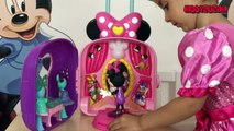 Giant Egg Surprise Mickey Mouse Clubhouse Minnie Toys Disney Junior Videos Super Giant Egg Unboxing