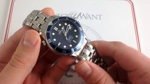 Omega Seamaster Professional Diver 300M Co-Axial Luxury Watch Review