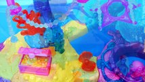 Barbie Splash n Spray Water Park Mini Mermaid with Disney Frozen Elsa and Anna Dolls Toys