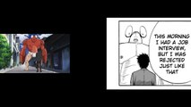 One-Punch Man Ep.1 - Anime/Manga Comparison