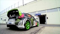 DC SHOES: Ken Blocks Gymkhana THREE, Part 2; Ultimate Playground; lAutodrome, France