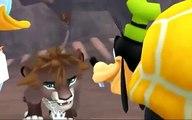 Kingdom Hearts II - Pride Lands (The Lion King) -Cartoon