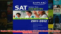 Download PDF  Kaplan SAT Subject Test Chemistry 20112012 Kaplan SAT Subject Tests Chemistry FULL FREE