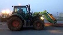 Les agriculteurs périgourdins partent en direction de Bordeaux.