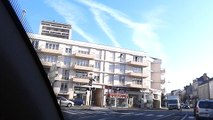 CHEMTRAIL - Observation d'épandages chimiques aériens non expliqués - 26/02/2016 - Angers centre