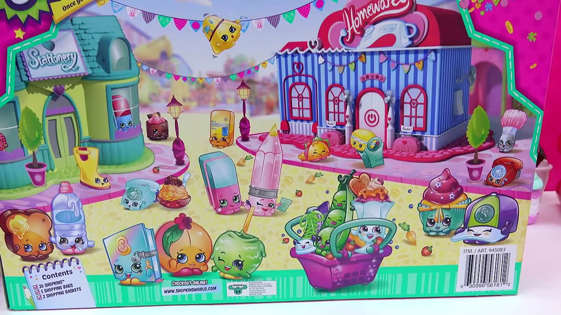 Shopkins Season 3 Super Shopper 33 Pieces Set With 4 Exclusive Blind Bags Cookieswirlc Video Video Dailymotion
