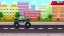 ✔ Monster Truck. Dessins animé voiture. Tiki Taki Voitures ✔