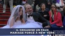 Il organise un faux mariage forcé et filme la réaction des passants