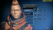 Destiny Xbox 360 Gameplay: Part 1 - Create A Character - The Divide! - Destiny Xbox 360 Walkthrough