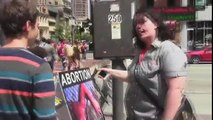 Woman Rages Over Anti-Abortion Sign - The Cringe Channel