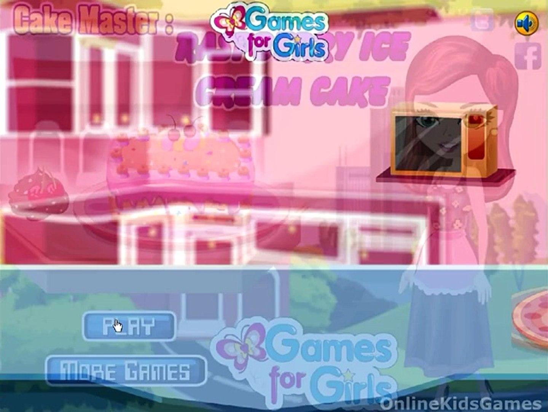 Cake Master Ice Cream Cake Game
