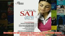 Download PDF  Cracking the SAT Chemistry Subject Test 20072008 Edition College Test Preparation FULL FREE