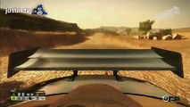 Double barrel roll to a board slide - Dirt 2