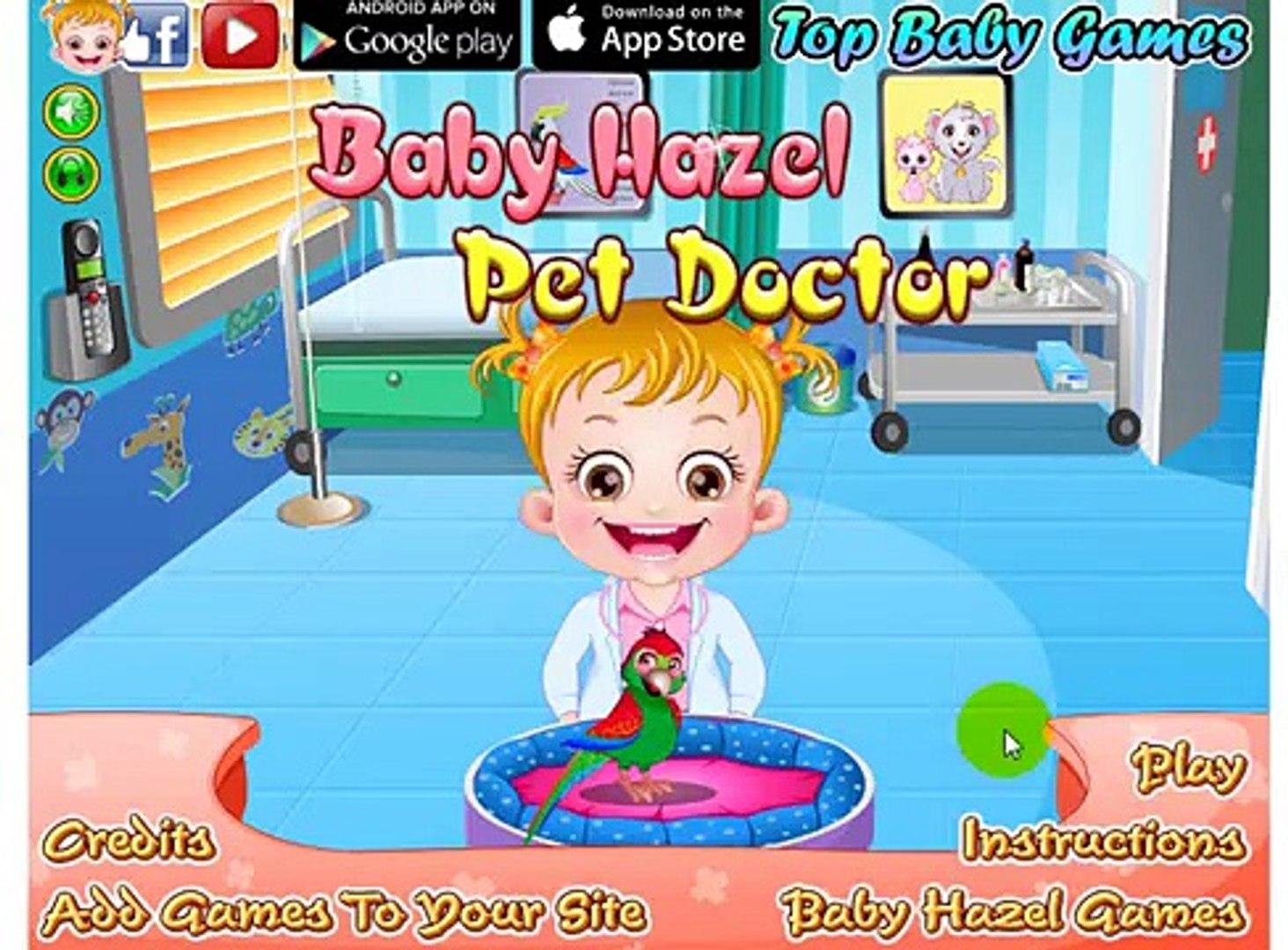 Baby Hazel Game Movie - BABY HAZEL PET DOCTOR