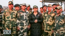 Watch Aishwarya Shoots With BSF Jawans For Sarbjit