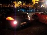 Gumball 3000 2007 Bratislava BMW M6 & Ferrari F430 F1