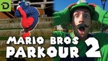 Mario Bros en mode parkour dans la vie réelle !