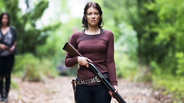 Lauren Cohan Spills The Walking Dead Season 6 Details (The Boy Junket)