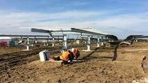 La centrale photovoltaïque du Poiré sur Vie