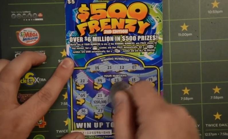Il gagne 200 000 dollars avec un ticket à gratter à 5 dollars