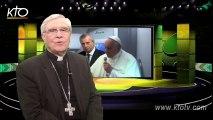 Mgr di Falco - Le Pape et Donald Trump