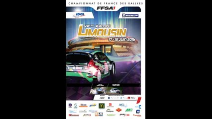 Rallye du Limousin 2016 - Conférence de Presse