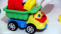 GIANT Lego Clown! Childrens Toy Cars Clown Videos for Kids (автомобиль клоун)