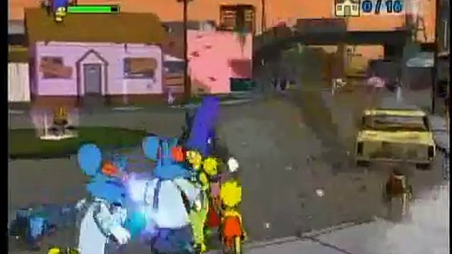 The Simpsons Game - Grand Theft Scratchy - Guide Part 1 of 4