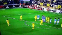 GOL DENIS SUAREZ VILLARREAL 1-0 NAPOLES EUROPA LEAGUE 2016 (FULL HD)