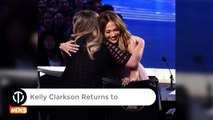 Kelly Clarkson Returns to American Idol