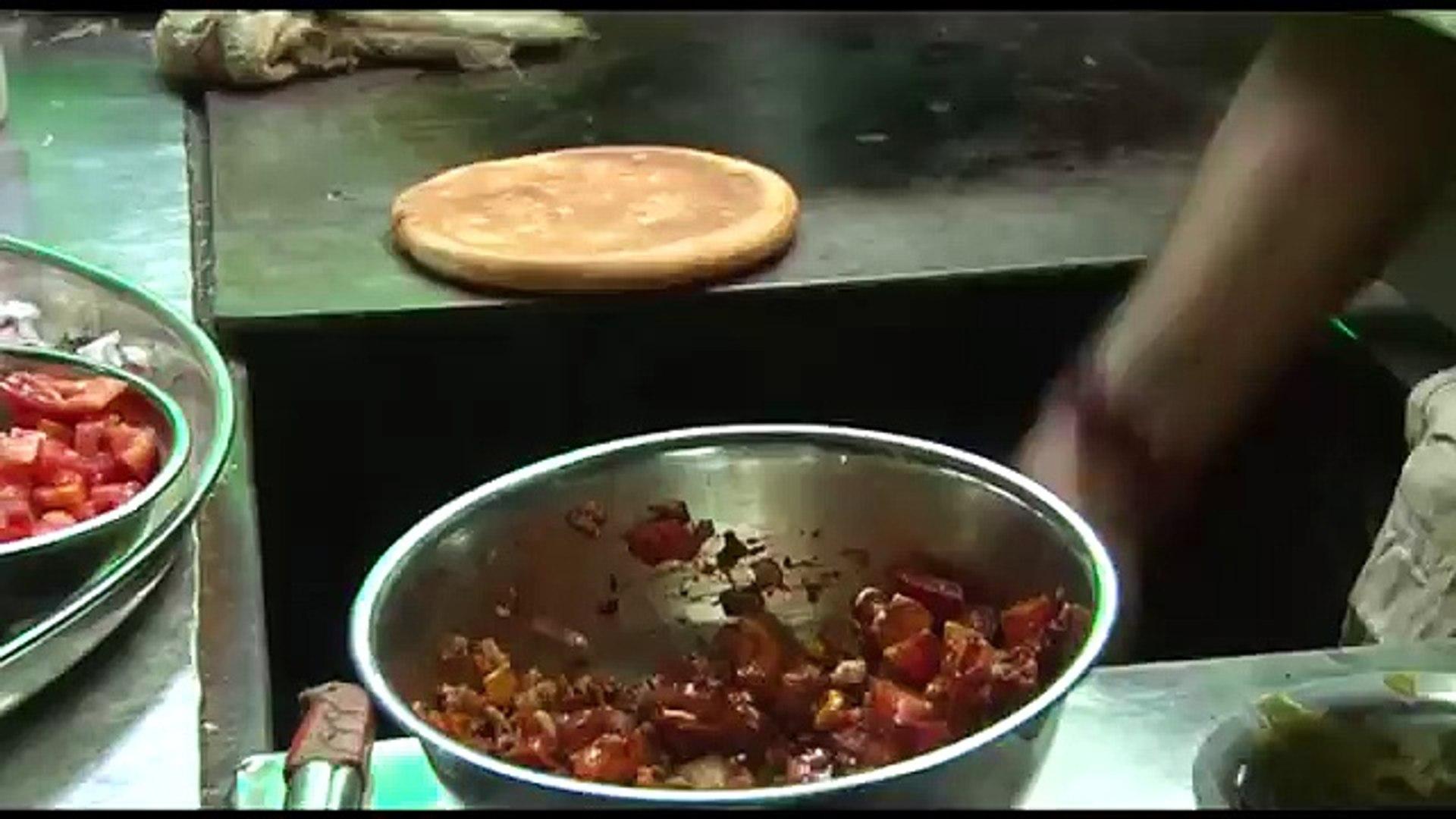 Indian street food mumbai - Punjabi dhaba - street food of india 2016 video