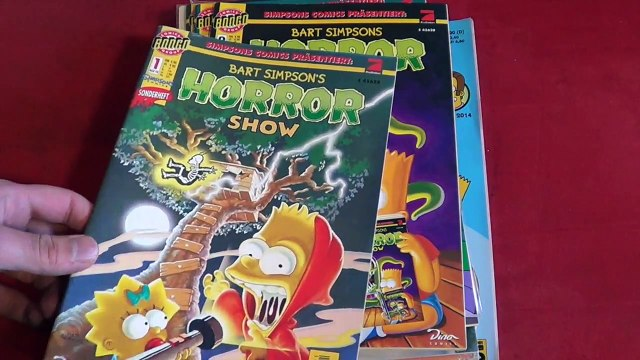Bart Simpsons HORROR Show (Vorstellung | Unboxing | Simpsons)