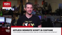 BvS: Ben Affleck Reportedly Rewrote Script While Dressed as Batman - IGN News (World Music 720p)