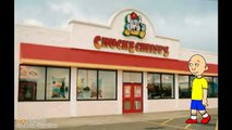Caillou gets fat at Chuck E Cheeses/grounded