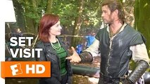 The Huntsman: Winter's War Set Visit (2016) - Emily Blunt, Charlize Theron Movie HD