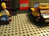Shootout LEGO Simpsons Stop Motion