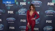 Jennifer Lopez dazzles in red jumpsuit at American Idol party