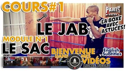 COACH BOXE : LE SAC n°1, LE JAB #1 by Lionel Picord-Bienvenue.Dans.Mes.Vidéos !