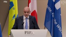 Gianni Infantino is elected Fifa president