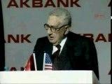 """Bilderberger Kissinger  at """"NWO Conference"""""""