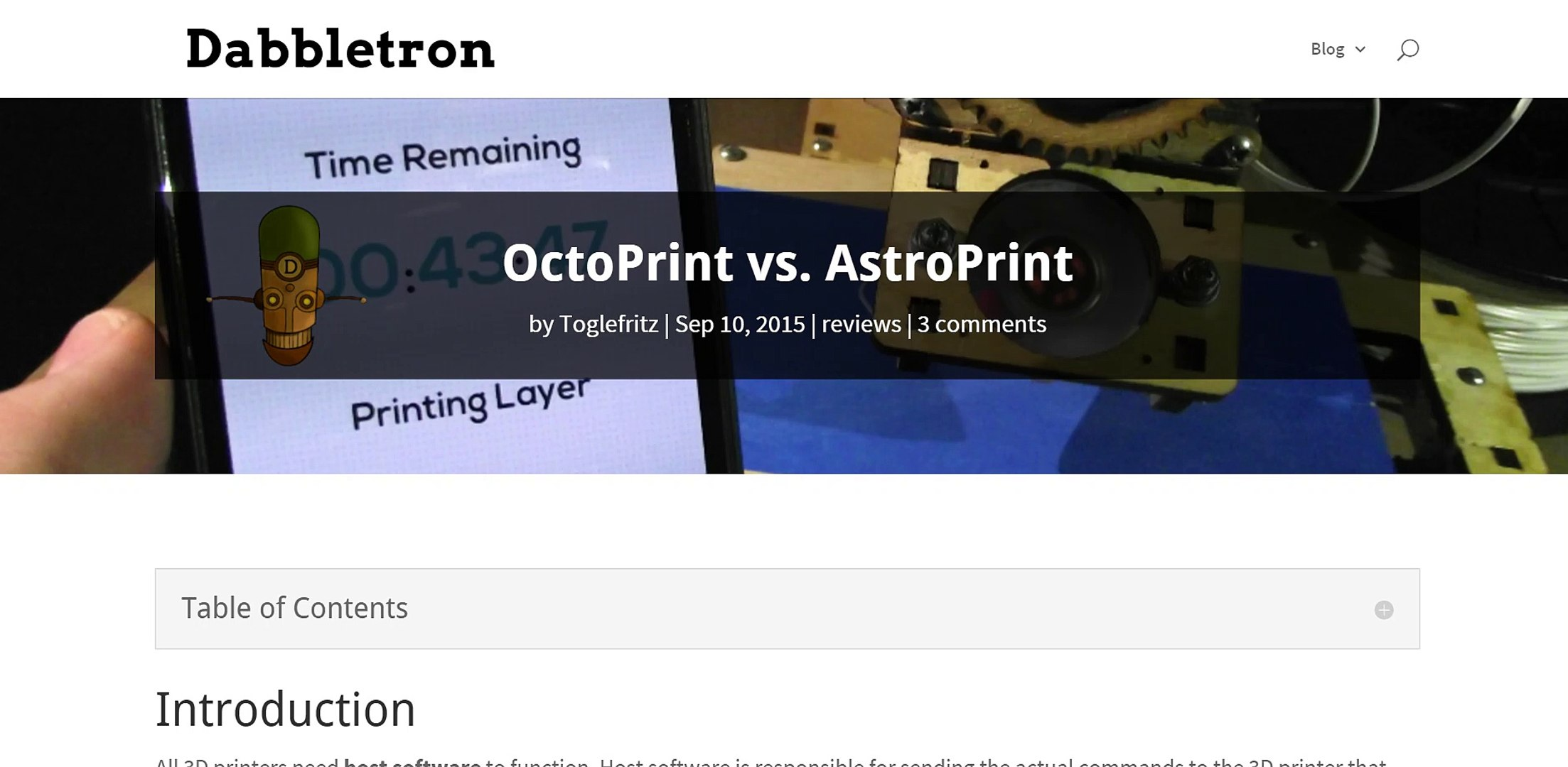 Octoprint or Astroprint? What should I use?
