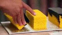 Mira cómo puedes hacer una torta con forma de cubo de rubik