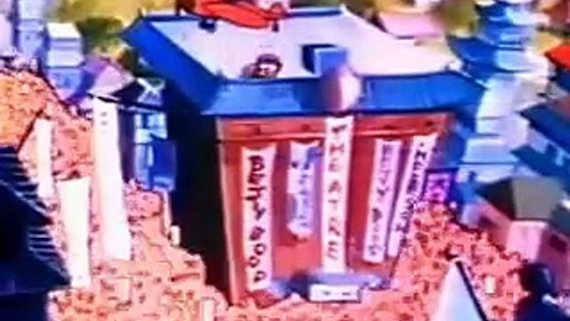 Betty Boop A Language all my own 1935 colorized Video 003