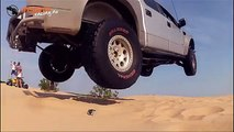 Ford Raptor SVT 6.2 EXTREME JUMP - Silver Lake 2012!