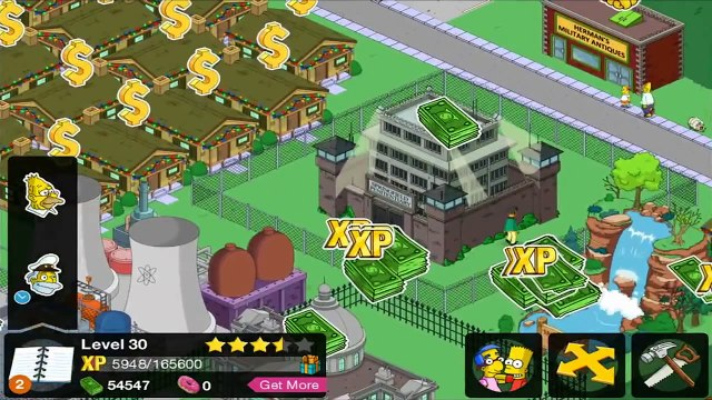 The Simpsons Tapped Out Itchy And Scratchy Store Level 30 Ending Mission City Hall Nonsense HD Ep 32