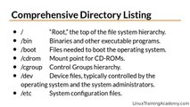 Learn Linux in 5 Days - The Linux Directory Structure ( Video 9 )