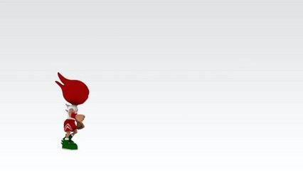 Beirut Marathon Animated Logo