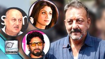 Bollywood Celebs REACT On Sanjay Dutt Release | Arshad Warsi | Shilpa Shetty