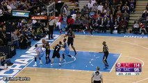 DeMarcus Cousins Intentionally Hits Chris Paul