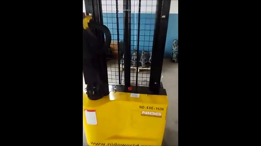 Nido Economic Electric Stacker   Nd-ESE-1536   Electric Stacker Video   Electric Stacker Suppliers   Stacker For Sale